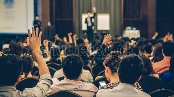 Speaker on stage rear view 600w 758264113