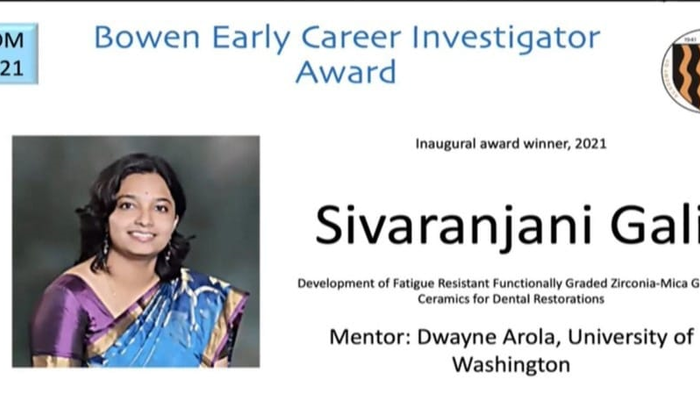 Shivaranjani Bowen Early Career Investigator Award