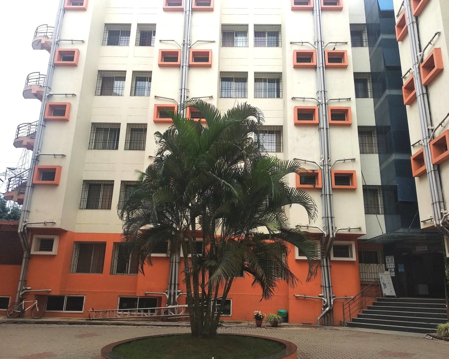 Hostel Front View