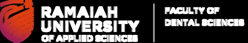 Faculty of Dental Sciences, Ramaiah University of Applied Sciences